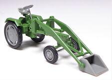 H0 BUSCH Mehlhose Geräteträger RS 09 / 15 grün grau Ladearm Schaufel  #210004701