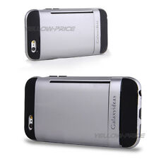 """For iPhone 6 4.7"""" Armor Case With 2 Cards Slot Holder Space Kick-Stand Cover, CA"""