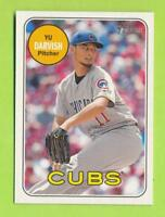 2018 Topps Heritage Action SP - Yu Darvish (#707)  Chicago Cubs