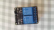 Modulo Relé 5v a 2 canali 2 ch rele optoisolati per Arduino UNO MEGA e NANO