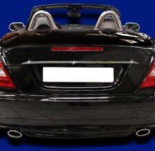 Mercedes R171 Slk Cromo Arranque Tapa del tronco tapa Manija Slk200 slk280 Slk350 SLK55