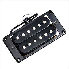 Humbucker Double Coil Electric Guitar Pickups Bridge and Neck Set  Black