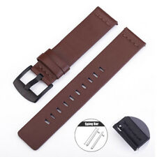 Genuine Leather Watch Band Strap Quick Release Black Brown 24mm 22mm 20mm 18mm