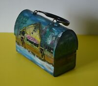 Unique Artist ~Rae~ Paintings + Interior Lining on Lunch Box (Made by Alladin)