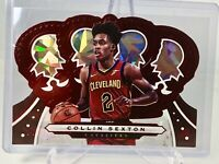 2019-20 Panini Crown Royale Collin Sexton (07/49) CLEVELAND CAVALIERS