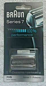 Braun Series 7 70S Pulsonic Foil & Cutter Replacement Shaver Head Cassette New!!