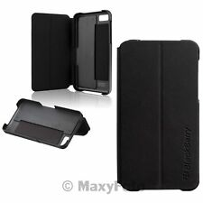 CUSTODIA BLACKBERRY ORIGINALE FLIP SHELL STAND COVER CASE LIBRO SUPPORTO PER Z10