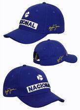 CAPPELLINO CAPPELLO AYRTON SENNA NACIONAL CAP UFFICIALE  CAP HAT