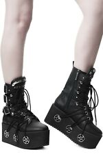 Killstar Hellbound Boots Gothic Occult Cybergoth Industrial NEW