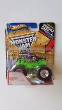 Hot Wheels Monster Jam 2012 Grave Digger Includes Crushable Car! (E)