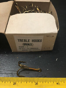 Fish Hooks 144 Treble Hooks  Size 1