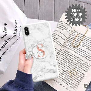 Personalised Phone Case Cover And Finger Holder Stand For Apple Samsung 149-3