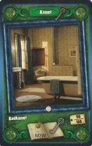 Trading card Het Huis Anubis - Kamer / Badkamer (056)