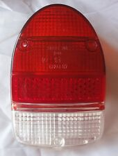 Rückleuchtenglas für VW Käfer ab 1968 rot klar rot