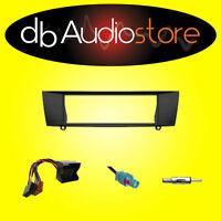 Mascherina+Cavi ISO e Antenna per Autoradio 1 Din BMW Serie3 E90 E91  '05 > '12