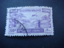 Lebanon 1945 Crusader Castle Byblos Airmail 200p value used SG 296 cat £6.50