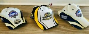 JIMMIE JOHNSON HATS (2) 2007 LOWES PIT CAP + (1) CHAMPION 2006 HAT =(3) NEW HATS