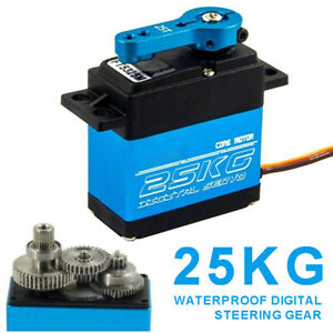FT5330M 25kg/cm Digital Servo Metall Lenkgetriebe wasserdicht für RC Auto Boat