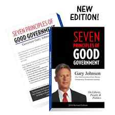 Seven Principles of Good Government Gary Johnson 2016 Edition Paperback Governor