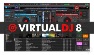 VirtualDJ Pro 2021 Infinity 8  Software Mixing Controller
