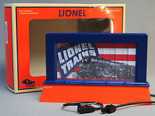 LIONEL ART OPERATING BILLBOARD PLUG-n-PLAY road train accessory roadside 6-82017