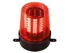 LAMPE GYROPHARE PROJECTEUR ROUGE 108 LED VITESSE DE ROTATION REGLABLE
