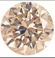 .12ctw Loose Natural Diamond Lot Melee  2 Stones 2.3mm Vs1-VS2 Cognac Color Obo