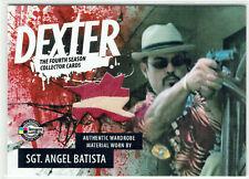 Dexter Season 4 Costume Card D4-C ABB Sgt Angel Batista SDCC Comic Con #264/299