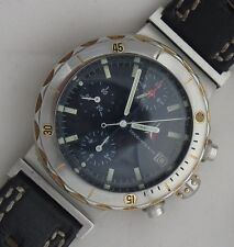 Eberhard & Co. Chrono Master GMT Automatic Date Chronograph mens wristwatch