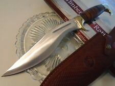 """Timber Rattler Stack Leather Sultan Kukri Bowie Hunter Knife TR148 16 1/2"""" New"""