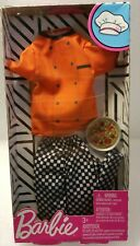 Barbie Ken Doll Complete Look Fashion Pack Career Pizza Chef Outfit New In Box