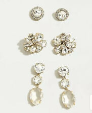 New$69.50 Crystal 💕 Great Gift � J.Crew Bold Gems Earring Set! Sold Out!
