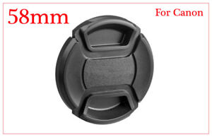 Top Quality LC58 Centre Pinch lens cap for Canon Lenses fit 58mm filter THREAD.