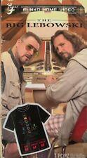 The Big Lebowski ~The Dude Abides T-Shirt M Medium NEW Limited Edition Funko VHS