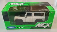 LAND ROVER DEFENDER WHITE TD5 TDCI 90 WELLY 1/24 SCALE MODEL DIECAST CAR