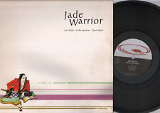LP JADE WARRIOR BREATHING THE STORM / DISTANT ECHOES DOUBLE ALBUM MADE IN ITALY