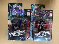 Transformers Earthrise Battlemasters Wfc-E13 Slitherfang Wfc-E39 Doublecrosser