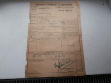 Chemin Fer de l' EST Gare VRIGNE aux BOIS VRIGNE Meuse usine TILLET 1920 ardenne