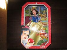 NEW Disney Fashion Doll Barbie Sized Toy Figure Snow White Apple Signature box