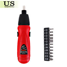 Electric Screwdriver Battery Operated Cordless Screwdriver Power Drill Tool