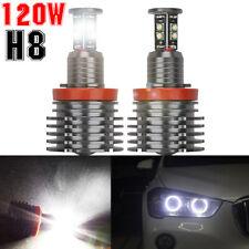 2x H8 LED Angel Eyes Ringe Standlicht Für BMW E90 E91 E60 E61 E71 E70 E82 LCI DE