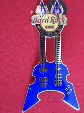 HRC hard rock cafe washington rock guitar series 2006 Blue Double Neck le500