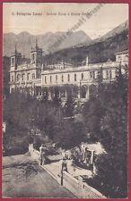 BERGAMO SAN PELLEGRINO TERME 95 FONTANA - CASINO Cartolina viaggiata 1925