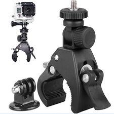 Bike Motorcycle Handlebar Tripod Mount Holder+Adapter KIT For GoPro 1/4
