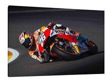 Dani Pedrosa - 30x20 Inch Canvas Repsol Honda Moto GP Framed Picture Artwork