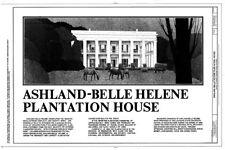 HOUSE PLANS - Ashland, a Historic Antebellum Plantation, Printed plans