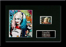 Suicide Squad 35mm Framed Mounted Film Cell Harley Quinn Movie Memorabilia