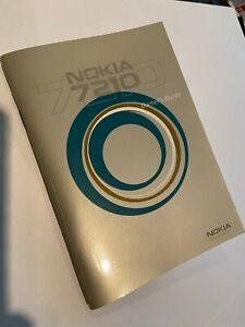 NOKIA 7210 User Manual Owner's Guide 9354680 - Original Brand New & Sealed pack.