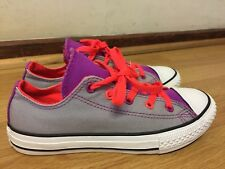CONVERSE ALL STAR GIRLS SHOES SIZE UK 1.5 / EU 33.5 MADE IN VIETNAM