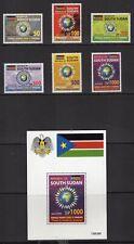 SOUTH SUDAN 2020 NH COVD 19 Virus Pandemic Set + Sheet Quick Delivery-FreShipUSA